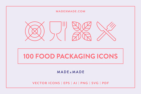 made by made food packaging cover