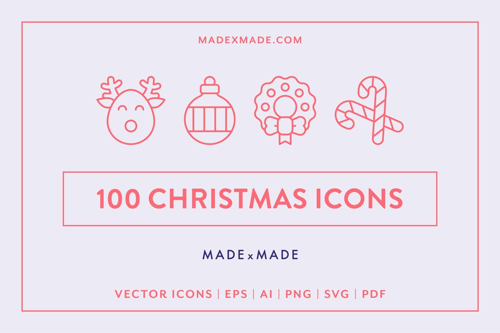 made x made icons christmas
