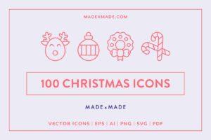 made x made icons christmas