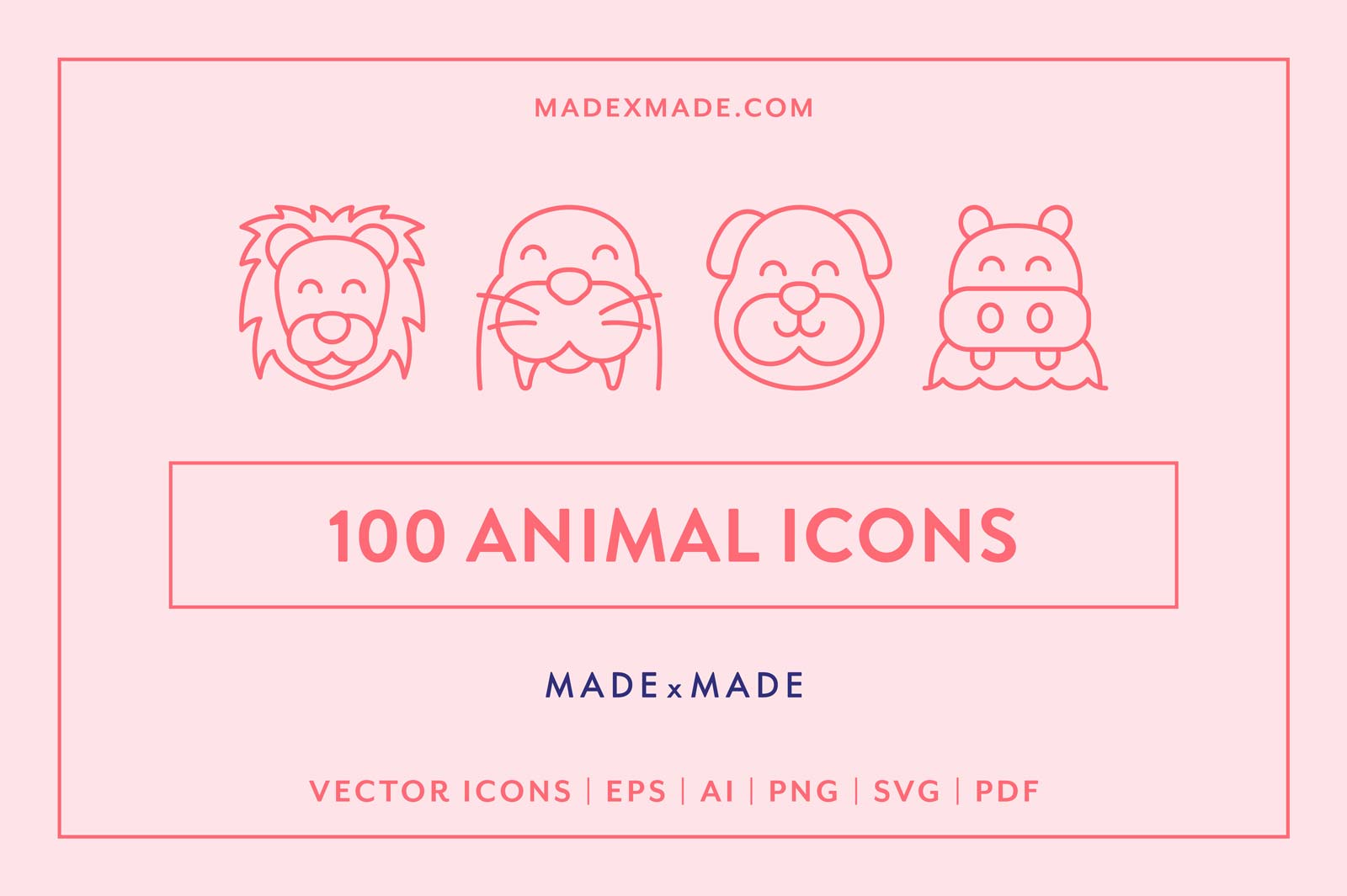 made x made icons animal