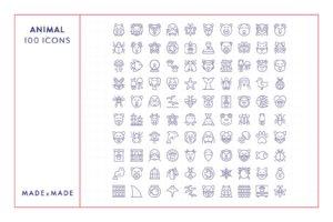 made x made icons animal