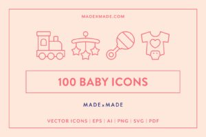 made x made icons baby