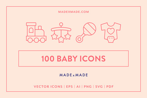 made x made icons baby cover