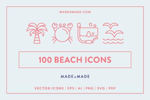 made x made icons beach