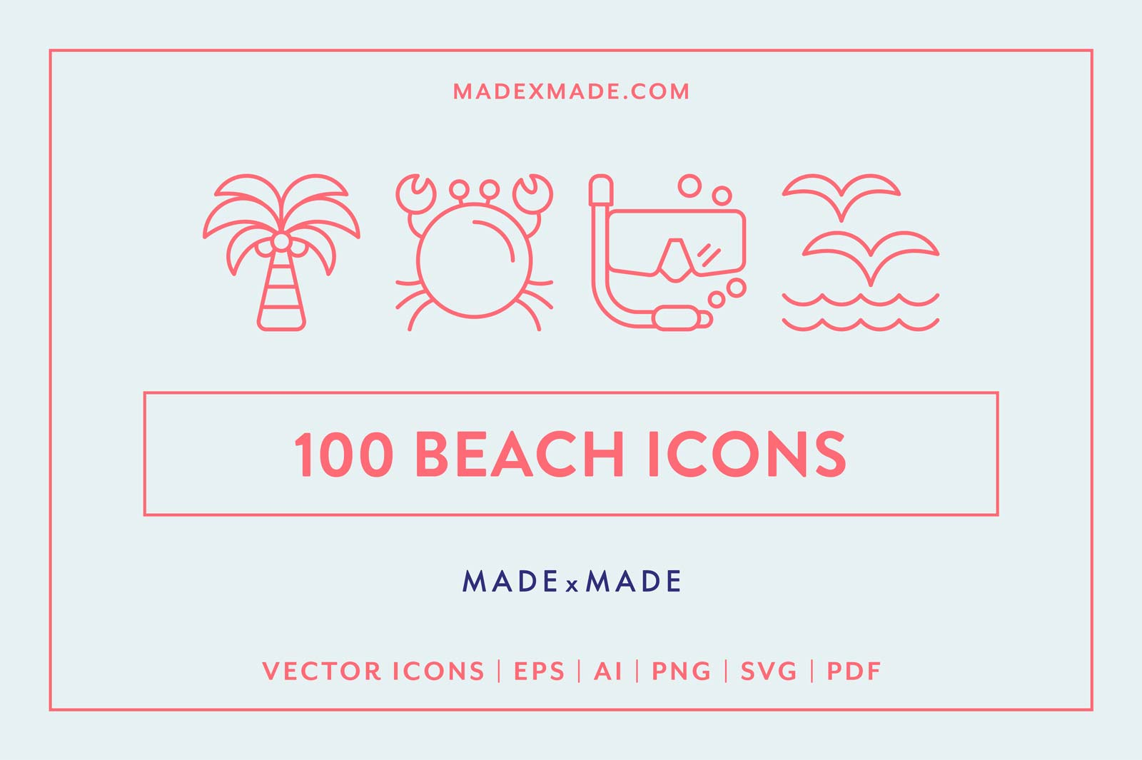 made x made icons beach