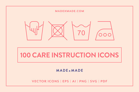 made x made icons care instructions cover