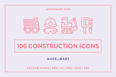 made x made icons construction cover