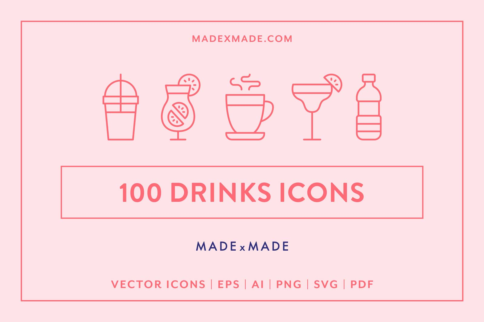 made x made icons drinks