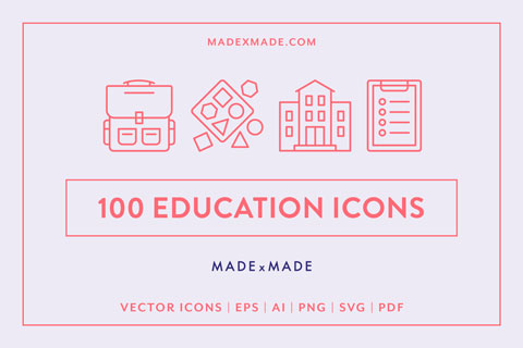 made x made icons education cover