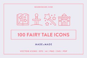 made x made icons fairy tale
