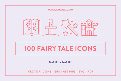 made x made icons fairy tale cover