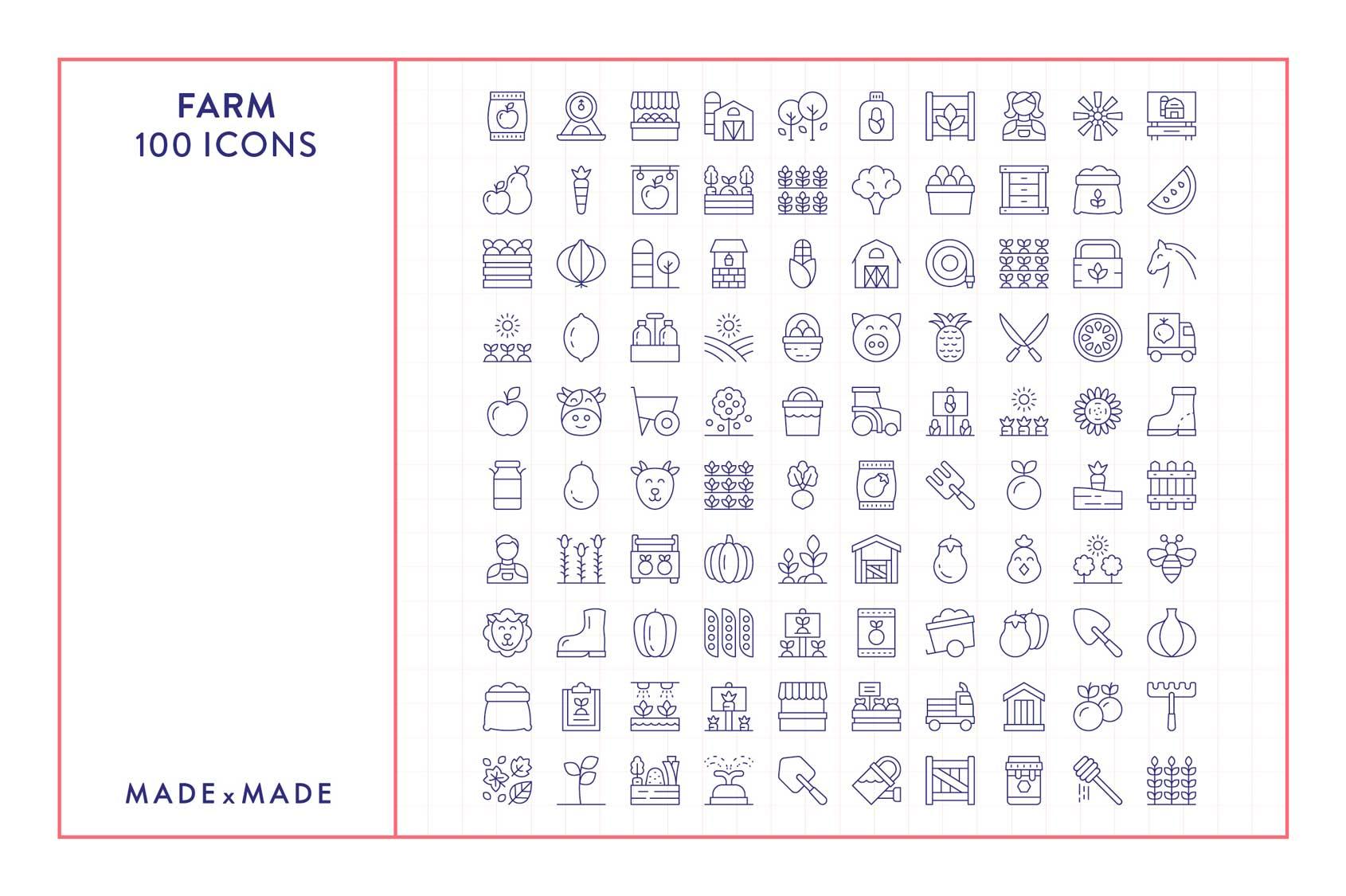 made x made icons farm
