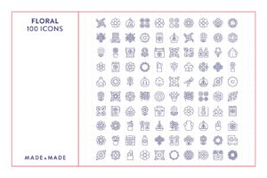 made x made icons floral