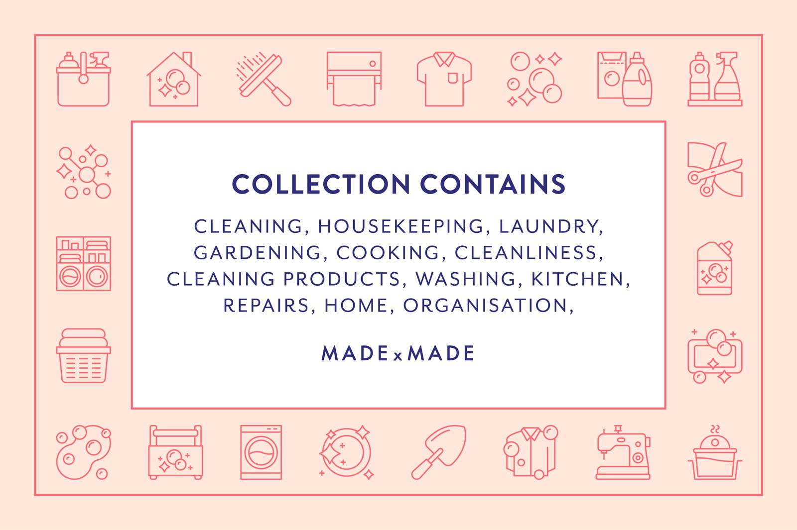 made x made icons housework