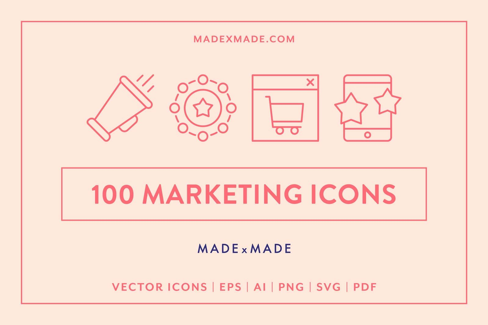 made x made icons marketing