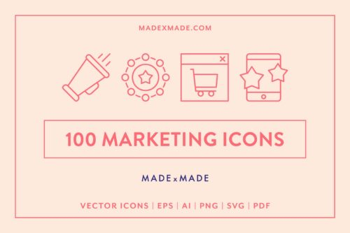 made x made icons marketing