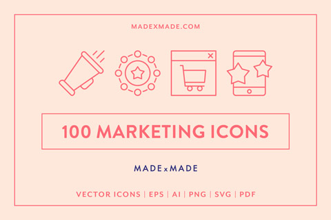 made x made icons marketing cover