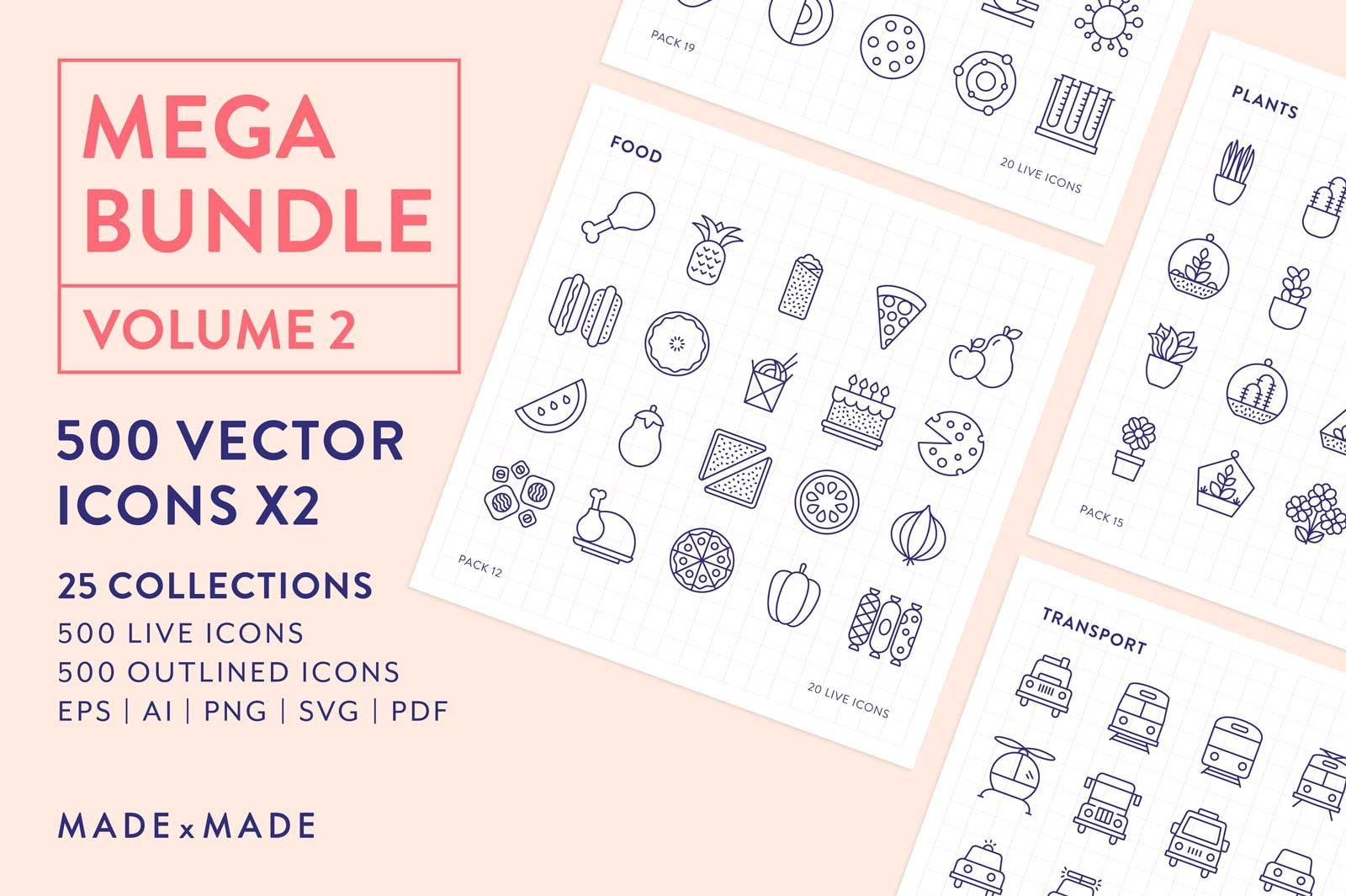 made x made icons mega bundle vol 2
