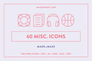 made x made icons miscellaneous