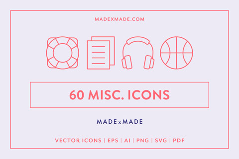 made x made icons miscellaneous cover