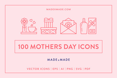 made x made icons mothers day cover