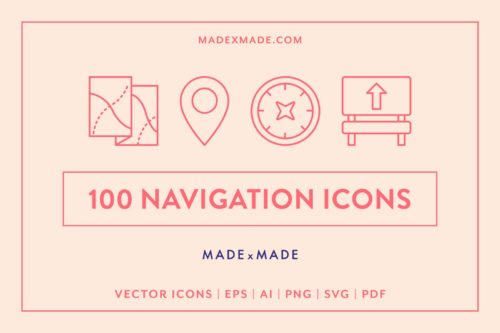 made x made icons navigation