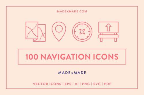 made x made icons navigation