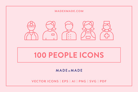 made x made icons people cover