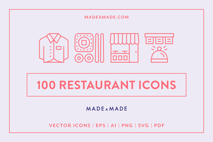 made x made icons restaurant cover