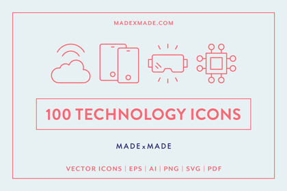made x made icons technology cover