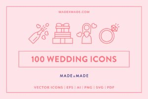 made x made icons wedding