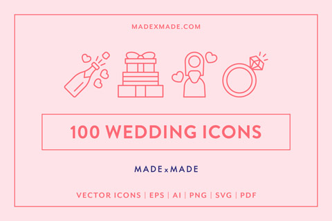 made x made icons wedding cover
