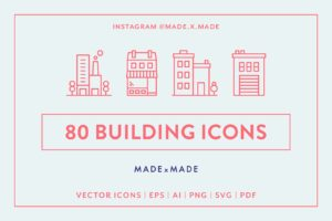 made x made icons buildings