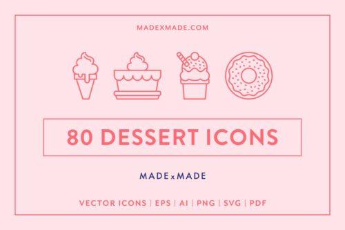 made x made icons dessert