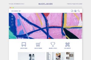 made x made icons ecommerce