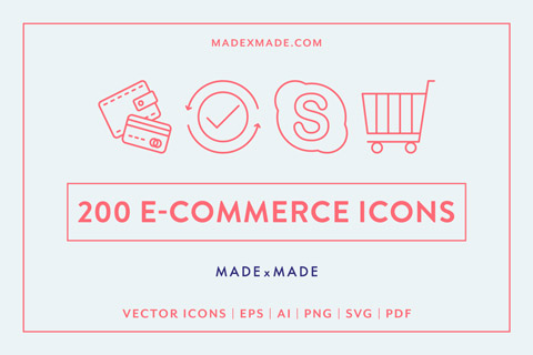 made x made icons ecommerce cover