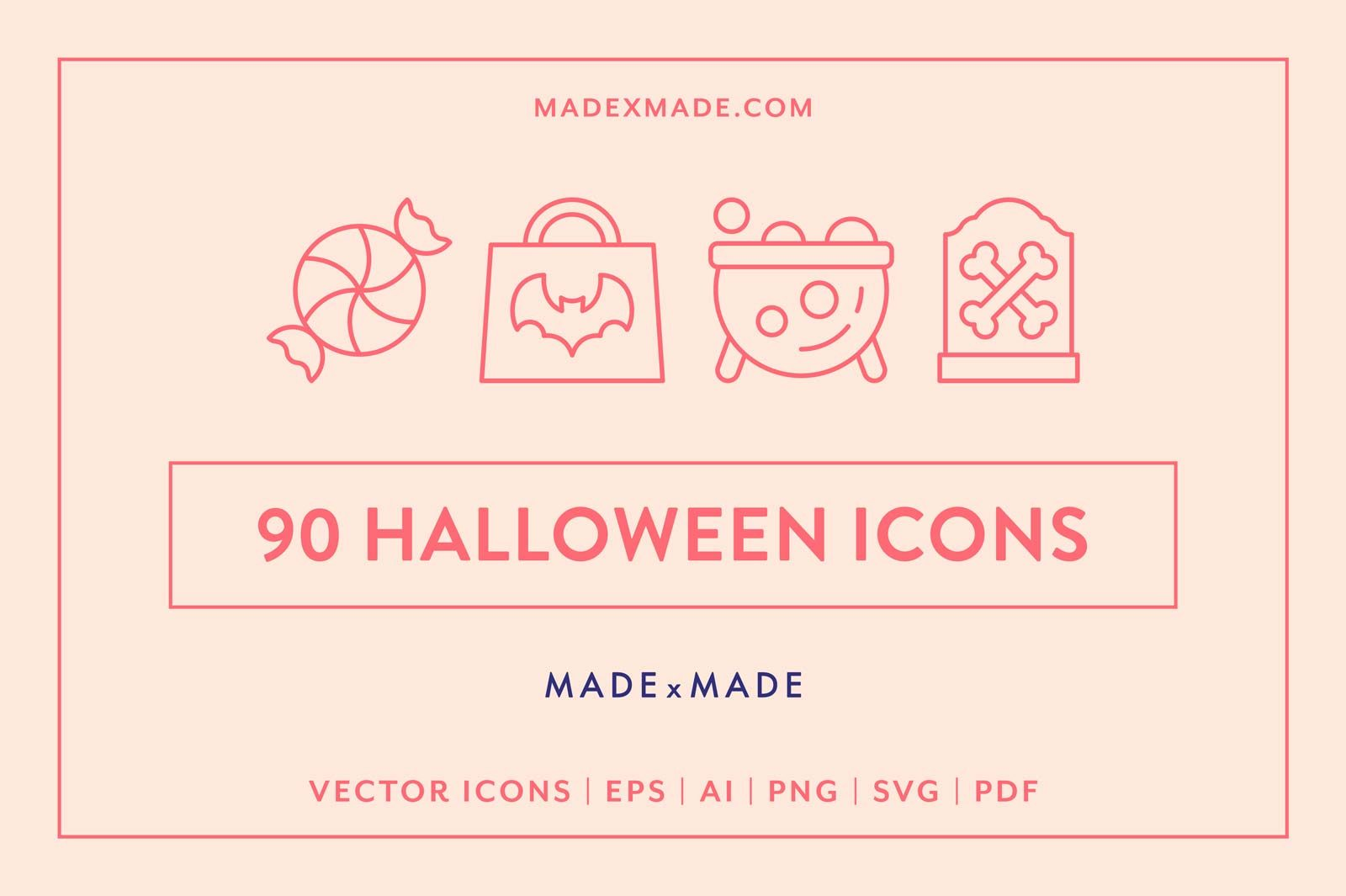 made x made icons halloween