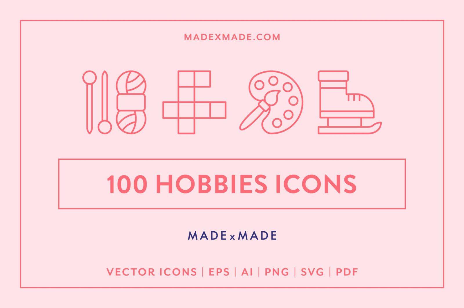 made x made icons hobbies