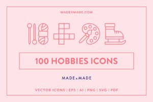 made x made icons hobbies