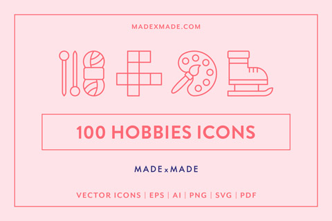 made x made icons hobbies cover