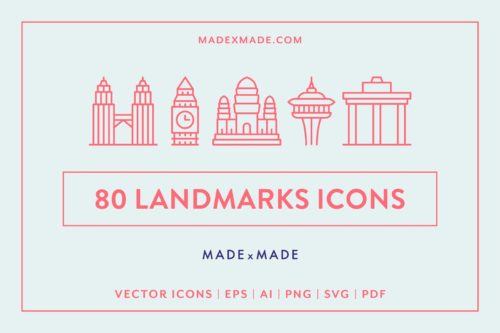 made x made icons landmarks