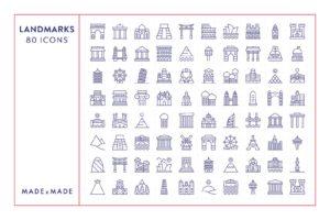 made x made icons landmarks