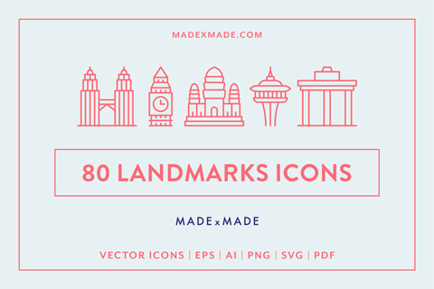made x made icons landmarks cover