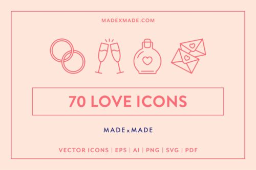 made x made icons love