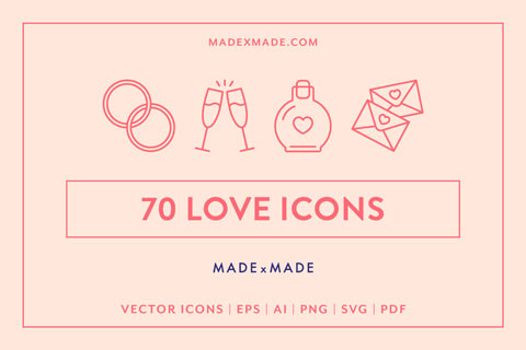 made x made icons love cover