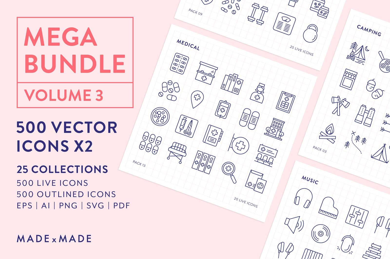 made x made icons mega bundle vol 3