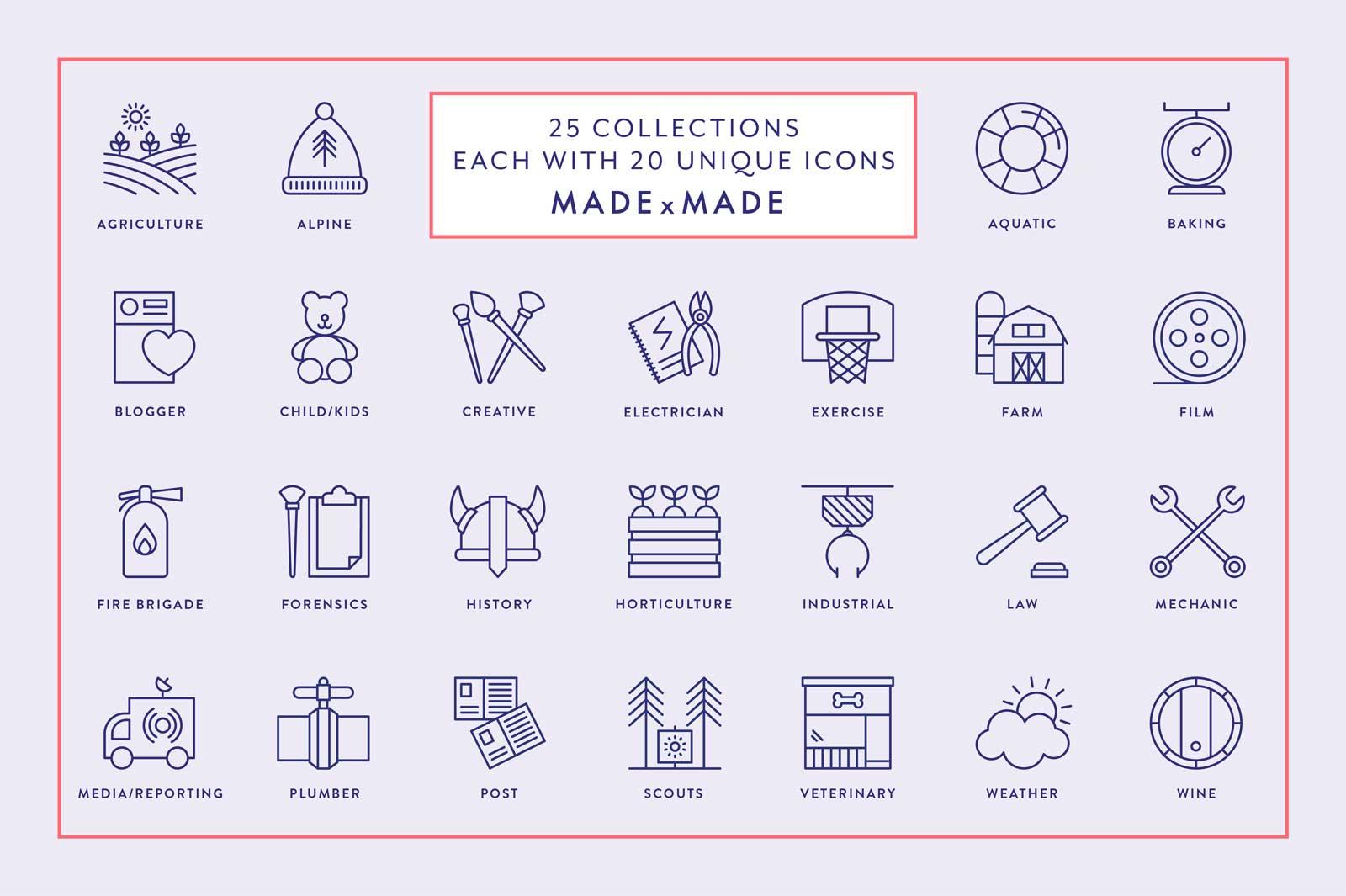 made x made icons mega bundle vol 4