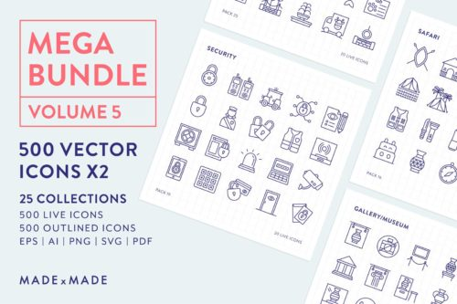 made x made icons mega bundle vol
