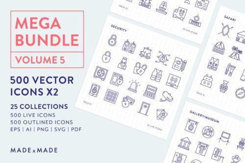 made x made icons mega bundle vol
