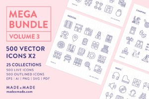 made x made icons mega pack vol